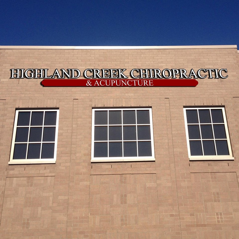 Highland Creek Chiropractic & Acupuncture Office Building