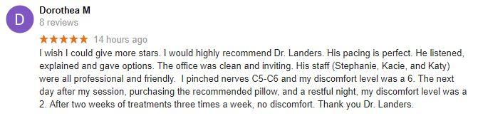 Concord NC Patient Testimonial